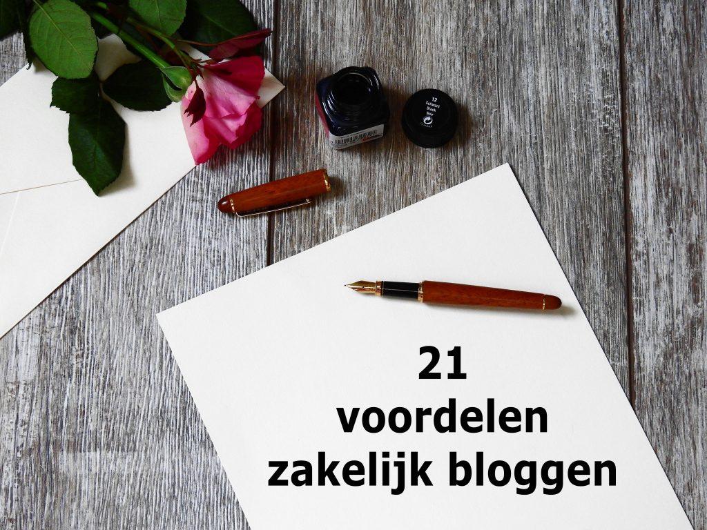 Hier zijn 21 voordelen van bloggen voor bedrijven